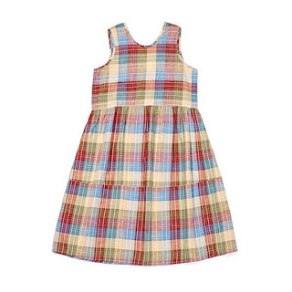 Ace & Jig Teasdale Dress in Madras
