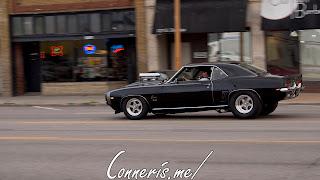 Draggin Douglas Black Chevrolet Camaro SS