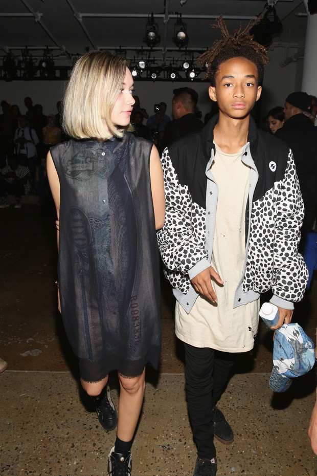 Jaden Smith with girlfriend Sarah Snyder