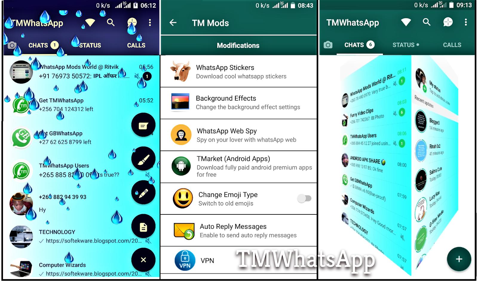 Softek IT Consult: TMWhatsApp v7 40 (Anti-Ban Version)