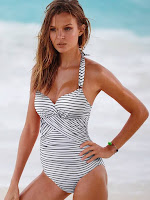 Josephine Skriver hot in sexy bikini models photo shoot for Victoria's Secret swimwear