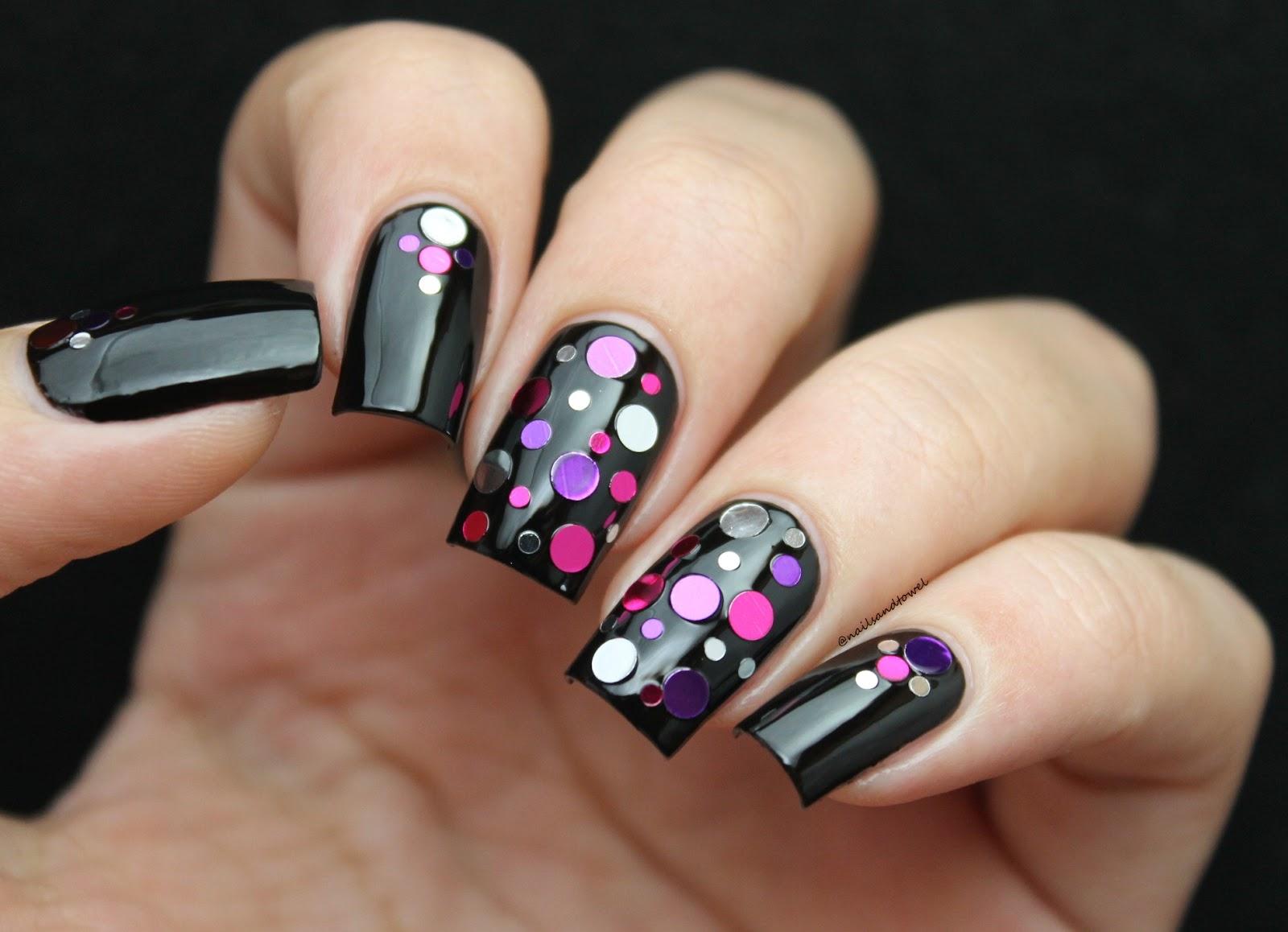 My Nail Art Journal: Confetti Nails + Whats Up Nails