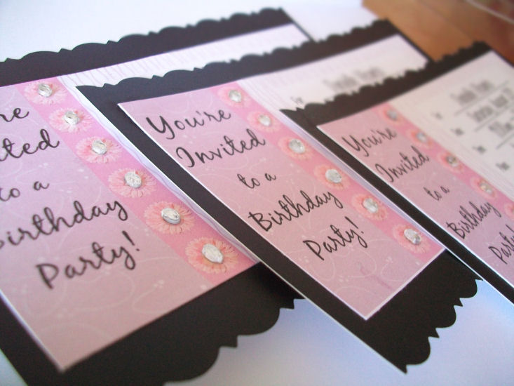 Tearful Touch: DIY Birthday Invitations Fit for a Tween