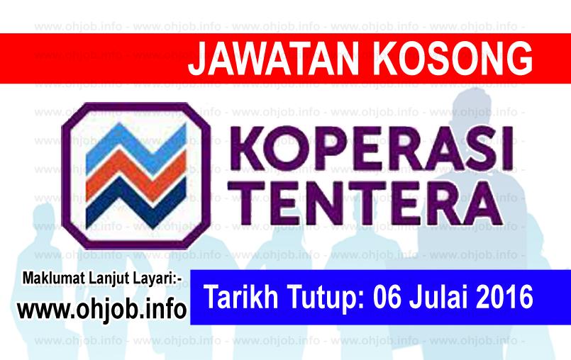 Jawatan Kerja Kosong Koperasi Tentera logo www.ohjob.info julai 2016