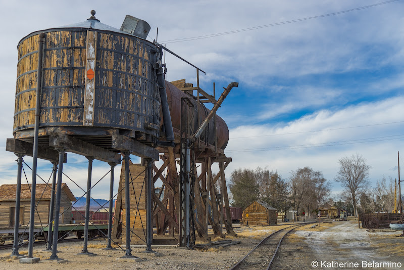 Laws Railroad Museum Water and Oil Tanks Things to Do in Bishop California