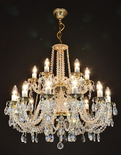 Lampu Crystal Chandelier