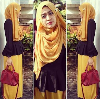 Model Baju Hijab Natasha Farani