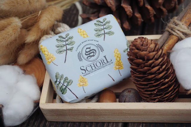 schorl Candle Bush Handmade Soap Bar