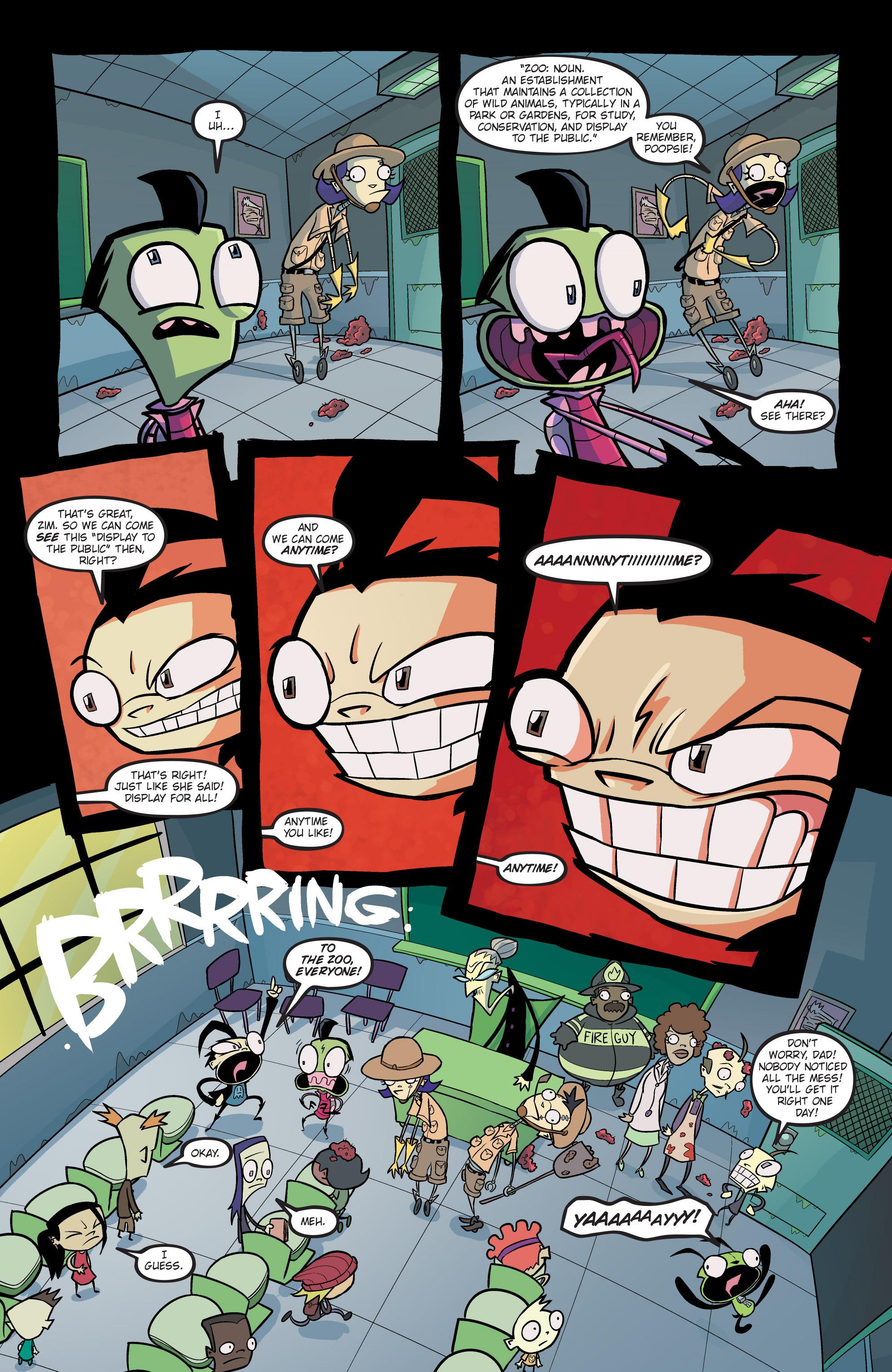 Read online Invader Zim comic -  Issue #19 - 5
