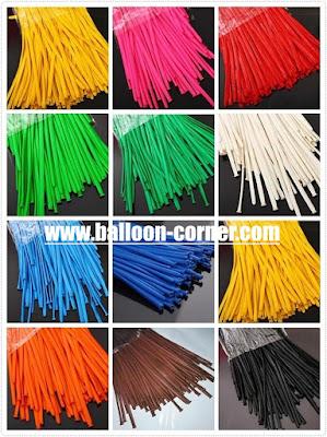 Balon Pentil / Balon Twisting Kualitas SUPER GRADE 'A' (Satu Warna)