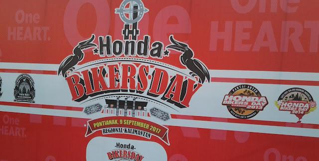 Honda Bikers Day Regional Kalimantan 2017 Sukses diselenggarakan