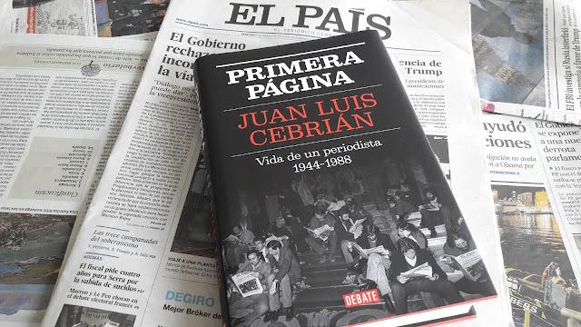 Primera página. Juan Luis Cebrián.
