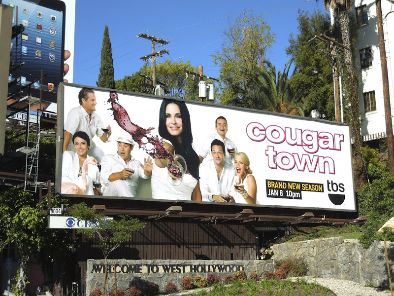 Cougar Town season 4 billboard
