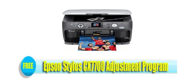 Epson Stylus CX7700 Adjustment Program