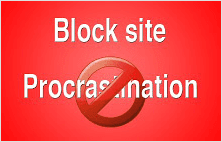 Block site extension for Google Chrome