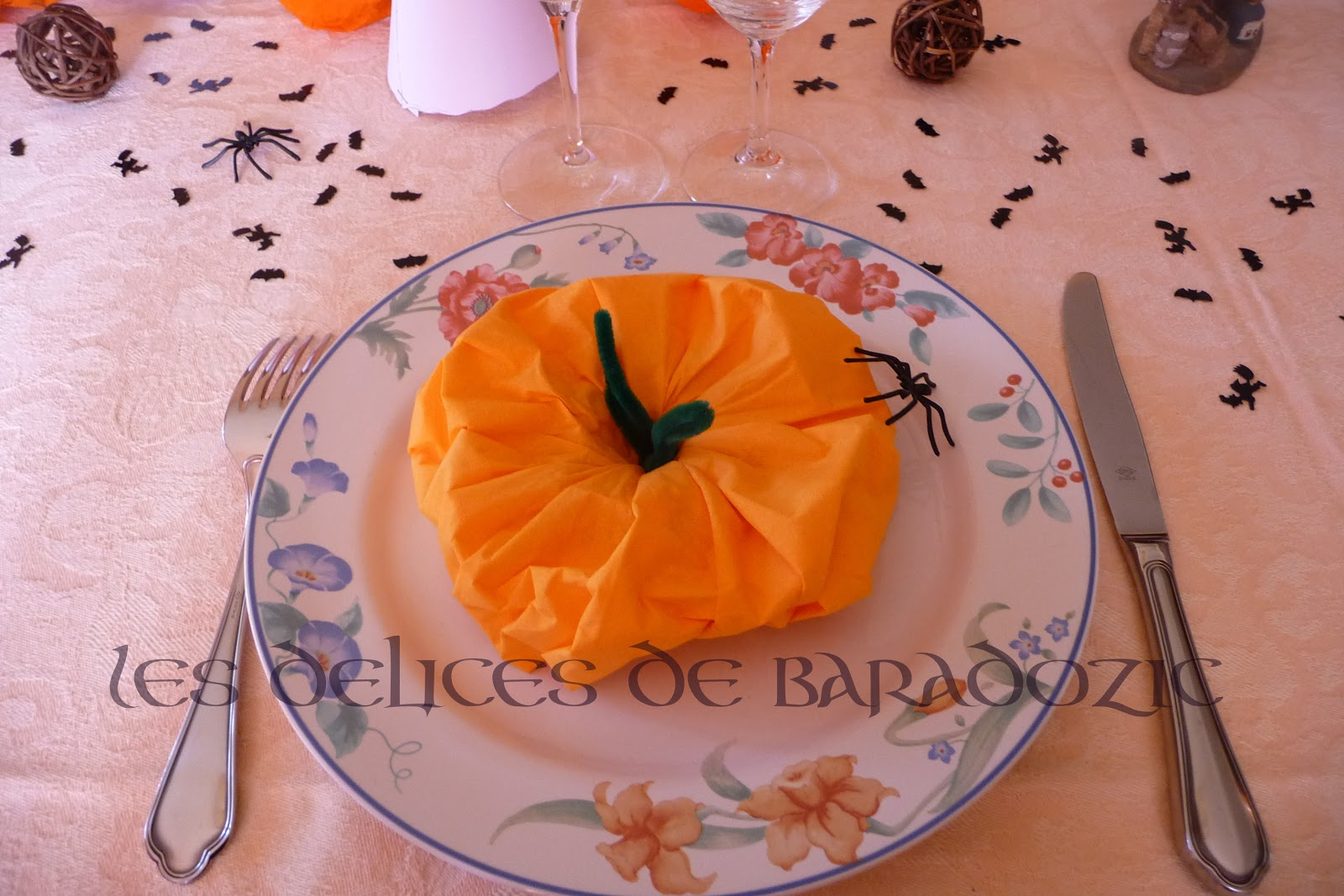 ma table d 39 halloween les d lices de baradozic. Black Bedroom Furniture Sets. Home Design Ideas