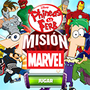 Phineas y Ferb Mision Marvel juego