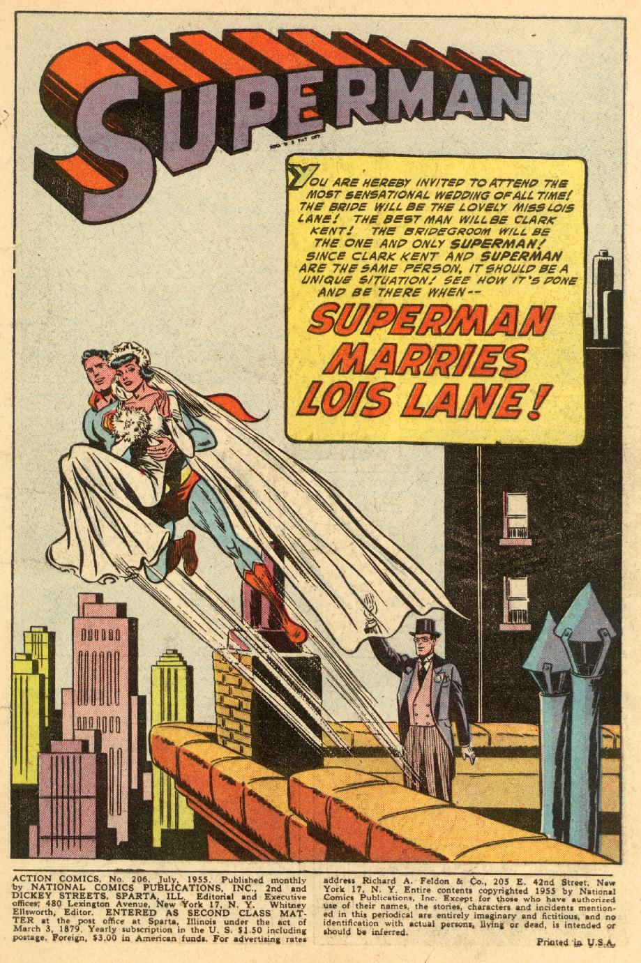 Read online Action Comics (1938) comic -  Issue #206 - 3