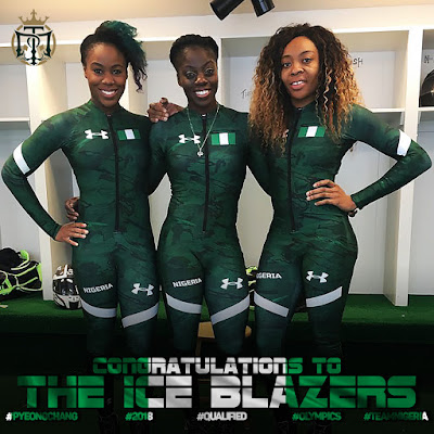 Nigerian Bobsled Team Dedicate Historic Winter Olympic Qualification To Nigerians