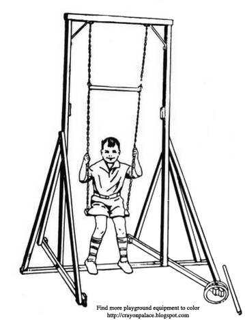 Drag Car Coloring Pages on swing harness