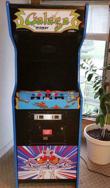 Nwi Arcade & Pinball Order Galaga Machines