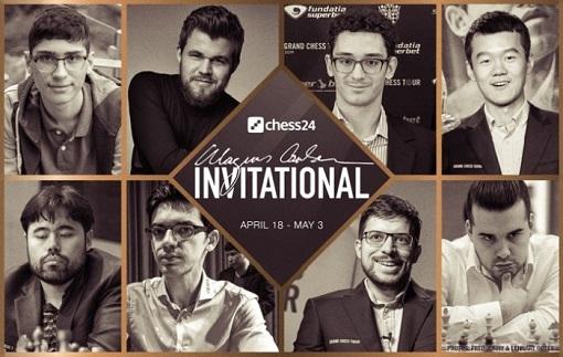 Magnus Carlsen Invitational avec Maxime Vachier-Lagrave - Photo © FIDE