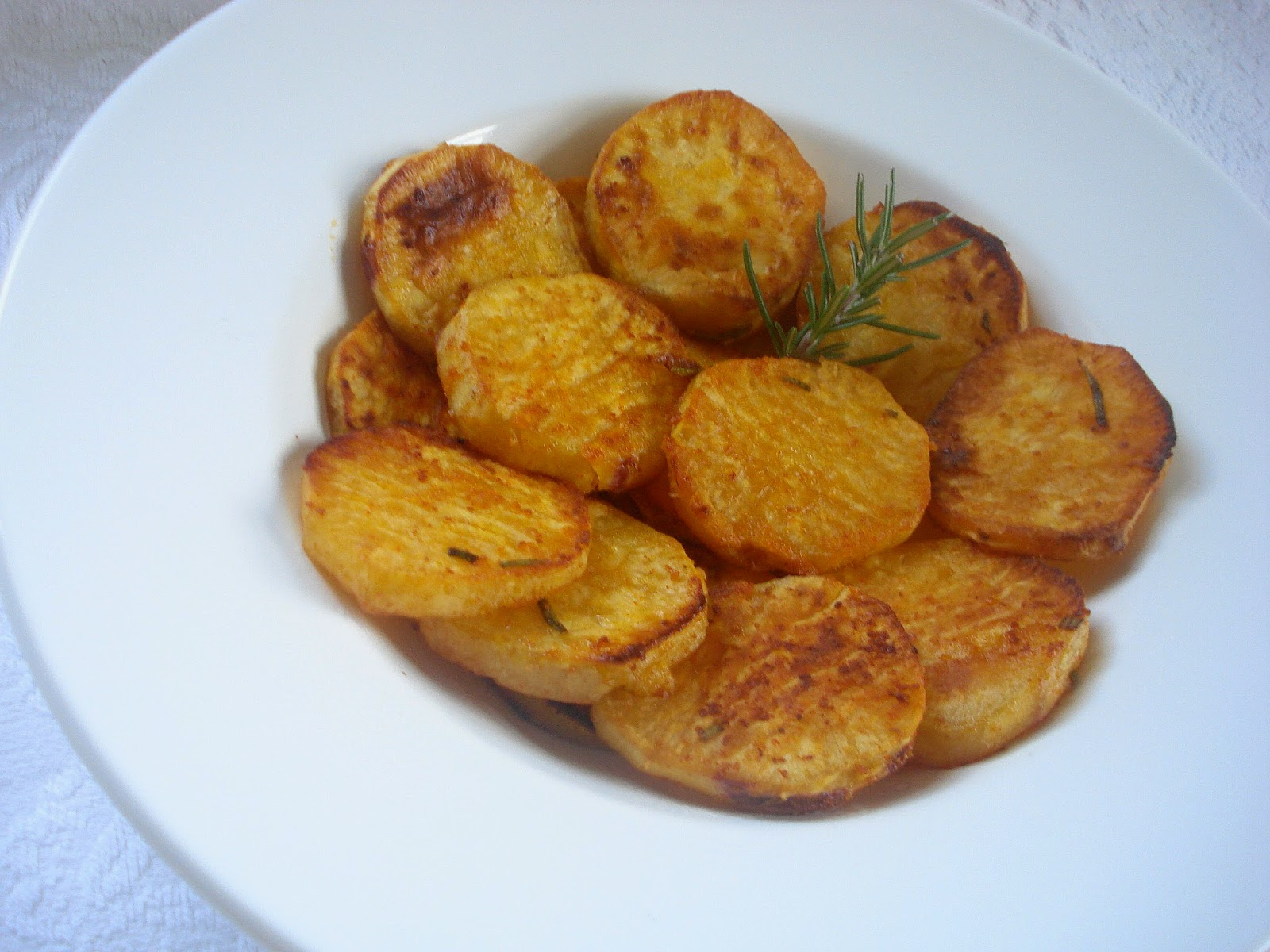 Batata doce com especiarias