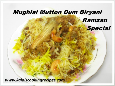 Mughlai Mutton Dum Biryani