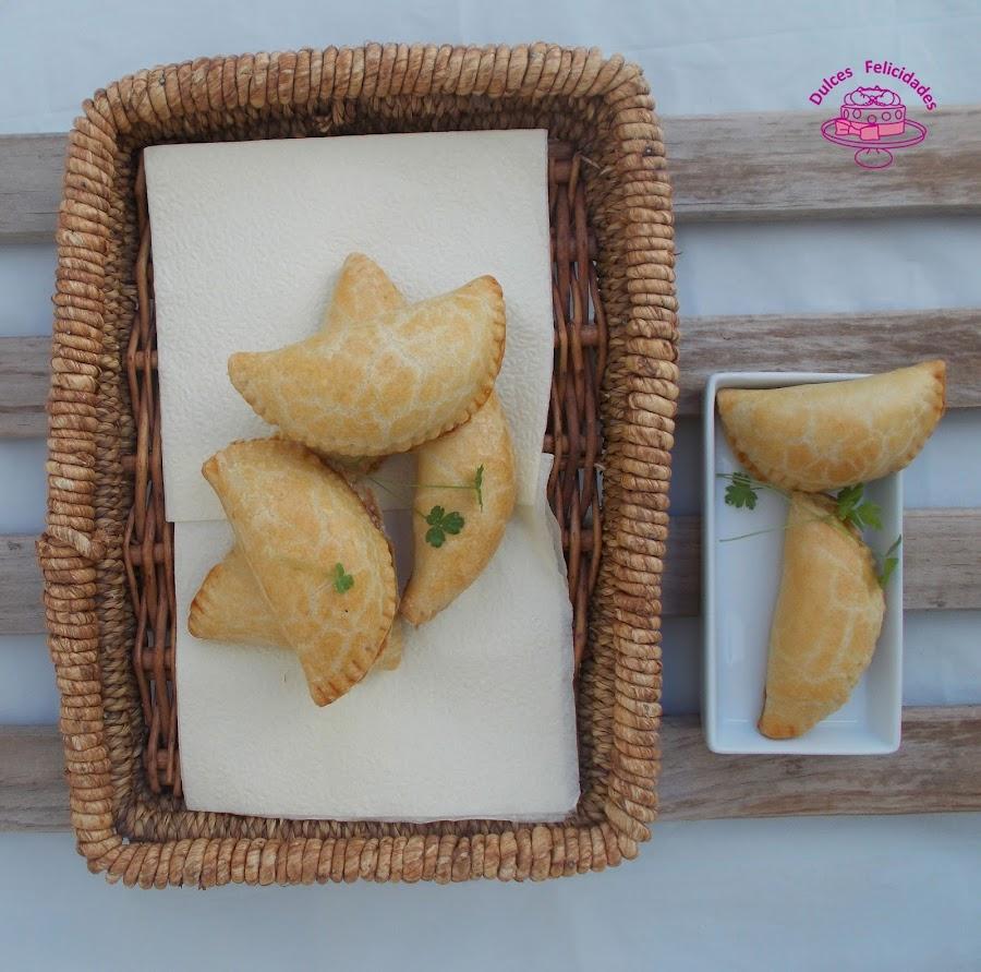 Empanadillas de york y queso