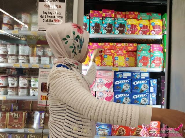 Bahagian Groceries LuLu Hypermarket Kuala Lumpur