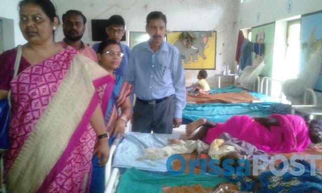 susri sandhiya chield line comisanar mamber JE claims 3 more lives; toll at 116 in Malkangiri, Odisha (Source: The OrissaPost)