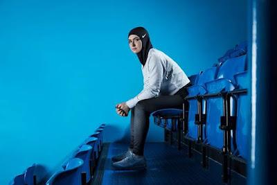 Pakaian Sukan Berjenama Untuk Atlet Wanita Muslim Yang Berhijab...