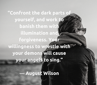 August Wilson, quote, forgiveness
