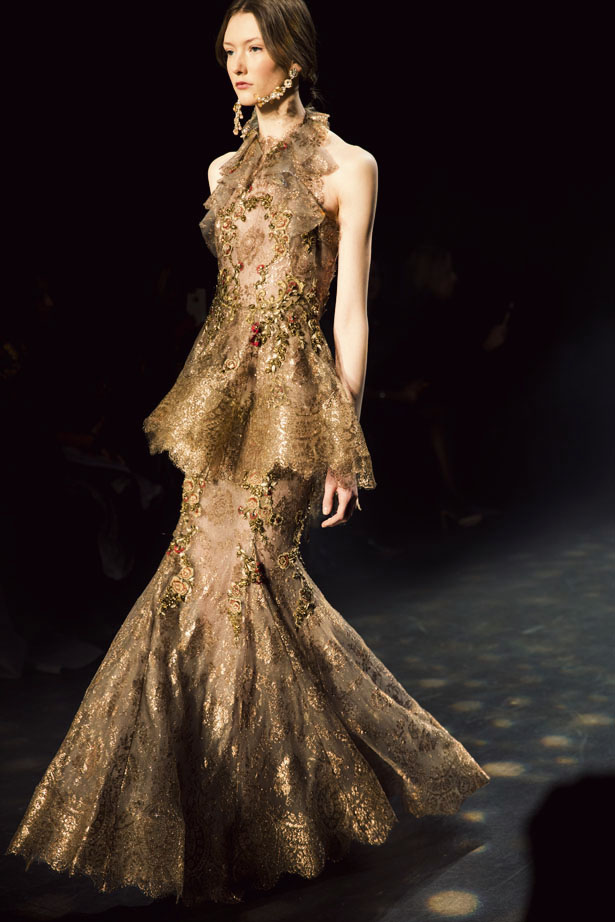 Marchesa Spring 2016 Ready-to-Wear collection