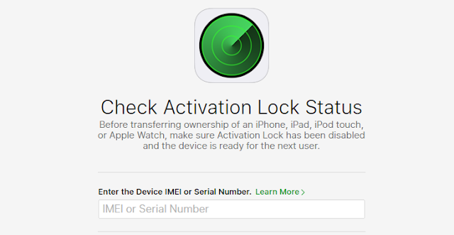 Here's How to quickly check the iCloud Activation Lock status of any iOS device using Apple's web tool