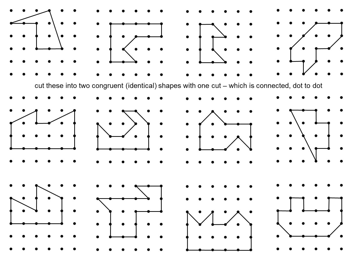 Median Don Steward Mathematics Teaching Congruent Halves