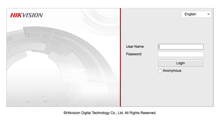 Hikvision | Label | Google Dorking
