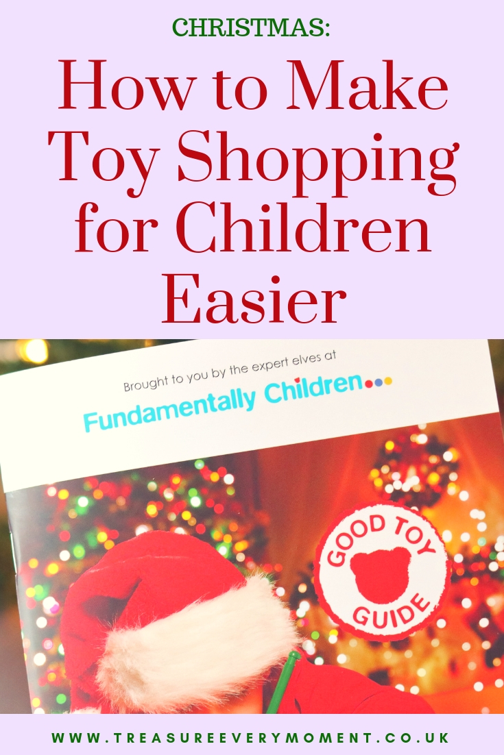 CHRISTMAS: How to Make Toy Shopping for Children Easier