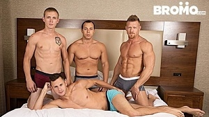 Brenner Bolton, Leon Lewis, Max London & Zane Anders – He Likes It Rough Raw Volume 2 ,Part 4