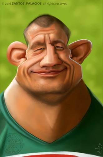 Jugador de rugby. Altruismo. Barrios Marginados.