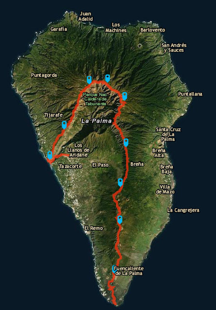 Recorrido Transvulcania 2016