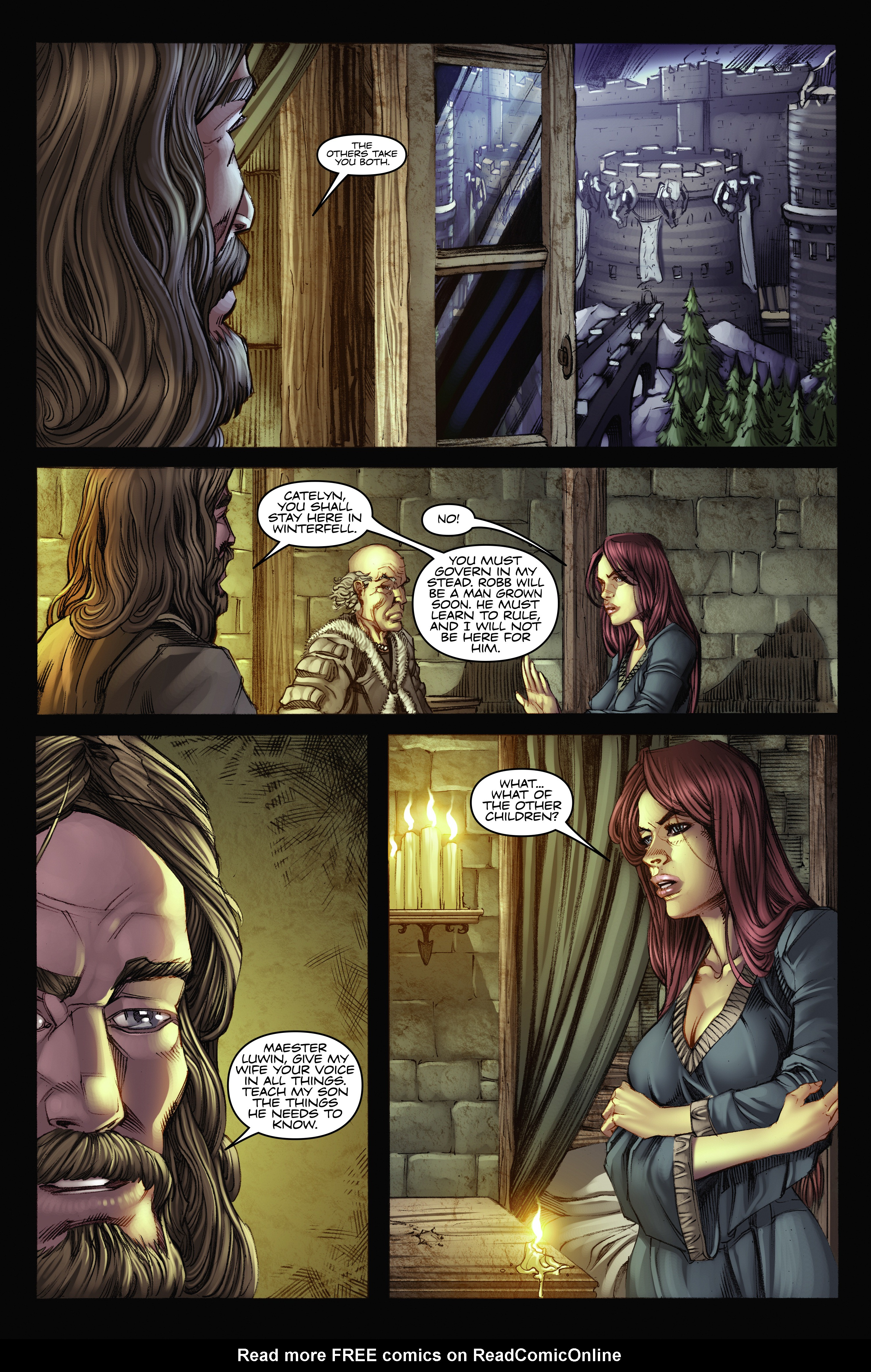 Read online A Game Of Thrones comic -  Issue #2 - 28
