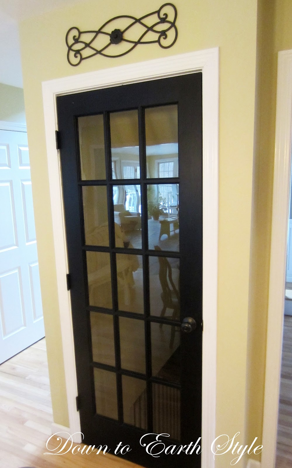 Basement French Door