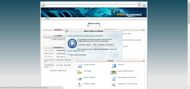 Como criar um banco de dados MYSQL no Servidor com CPanel