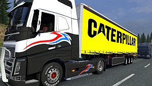 Caterpillar trailer mod