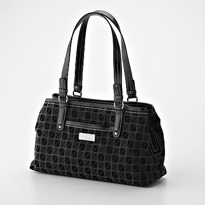 Nine And Co Broadway Midtown Satchel Black