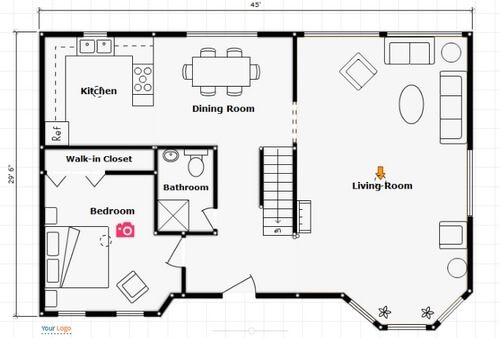 Ideal  Floor Plan