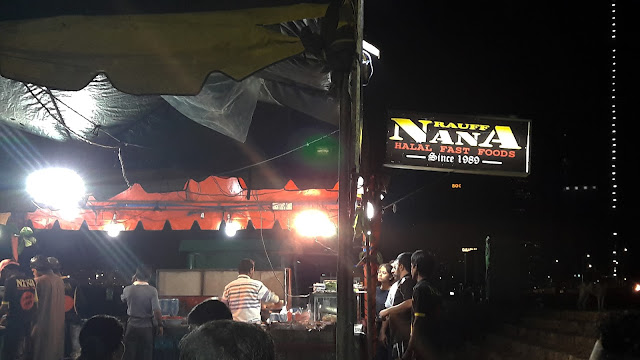 Street Food im Nanas, Colombo Fort