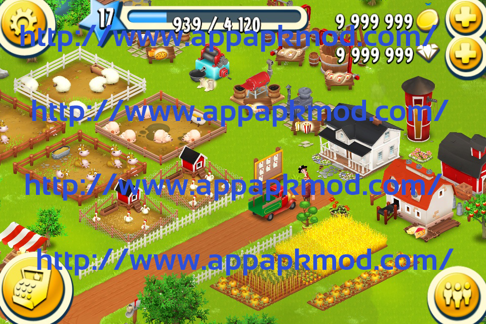 Hay Day Mod APK V1.19.88 (9.99 Million Gold and Diamonds ...