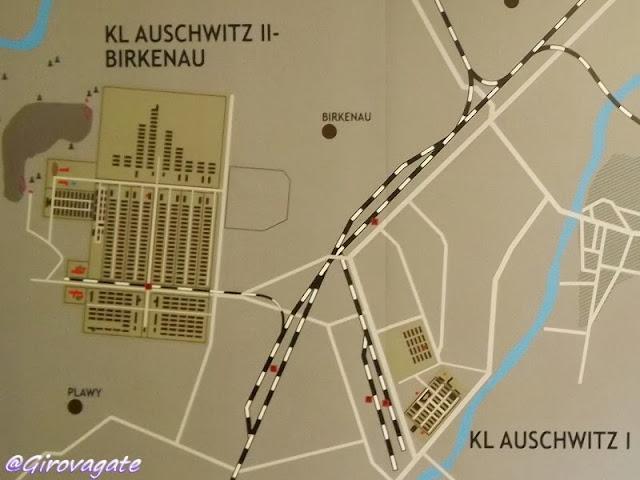 mappa Auschwitz Birkenau